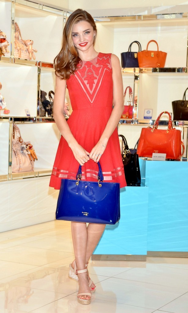 Miranda Kerr en promo à Séoul, le 12 juin 2013.