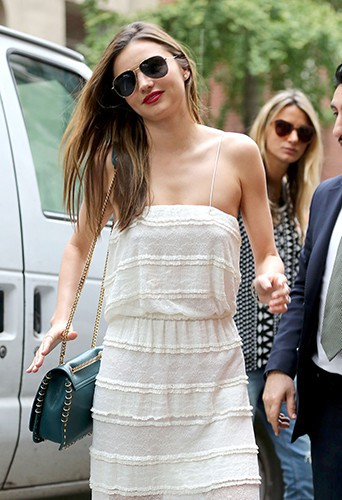 Miranda Kerr à New-York le 16 septembre 2013