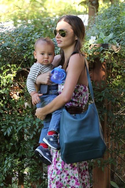 Miranda Kerr et son fils Flynn