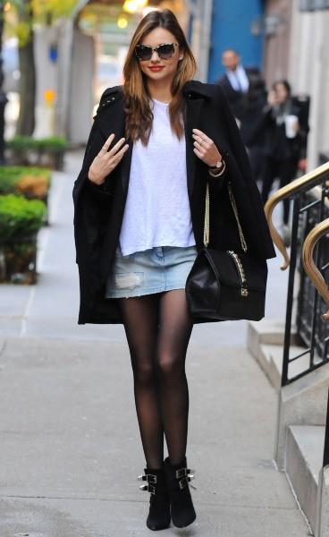 Miranda Kerr à New York, le 4 novembre 2013.