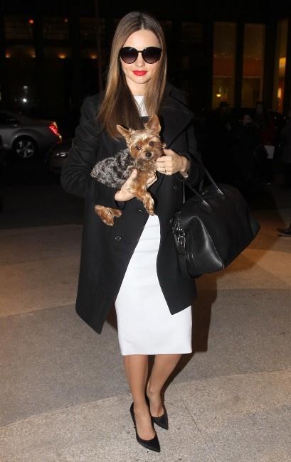Miranda Kerr à New York, le 25 février 2013.