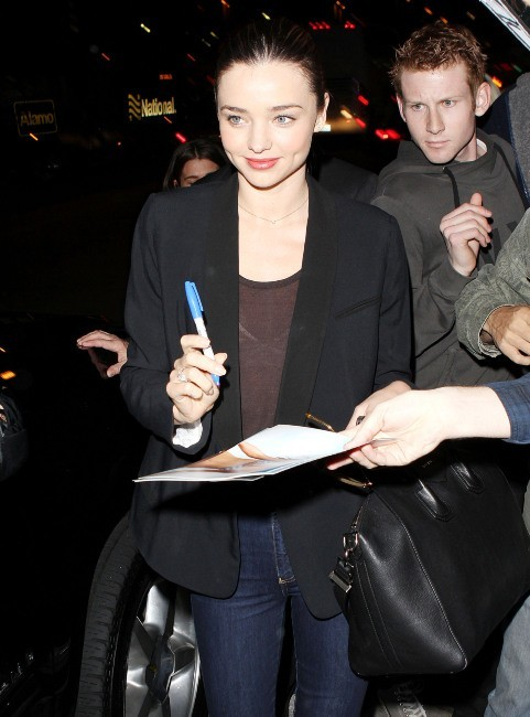 Miranda Kerr, Los Angeles, 18 janvier 2013