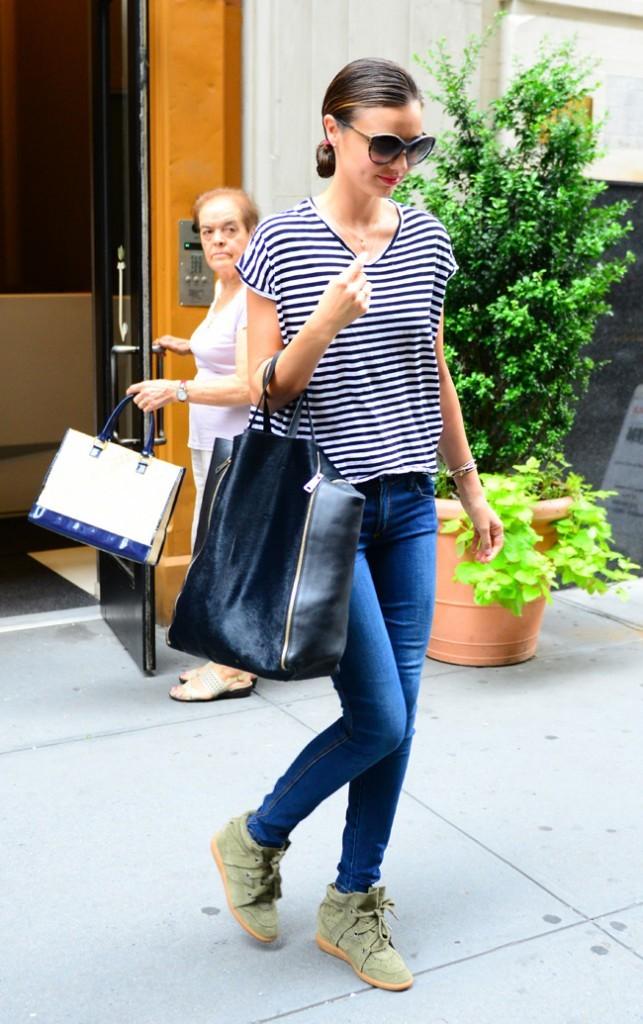 Miranda Kerr le 19 juillet 2012 à New York