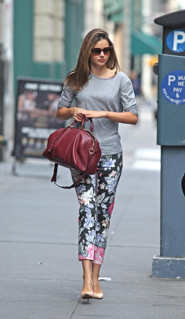 Miranda Kerr à New York, le 15 juillet 2012.