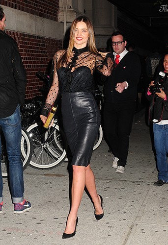 Miranda Kerr à New-York le 4 mai 2013