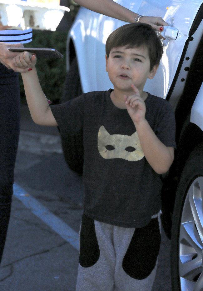 Flynn à Malibu le 1er novembre 2015