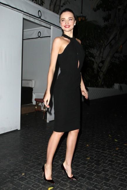 Miranda Kerr à Los Angeles, le 9 janvier 2013.