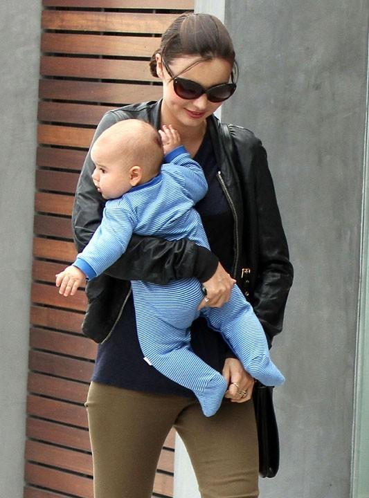 Miranda Kerr et son fils Flynn... Un duo trop craquant !
