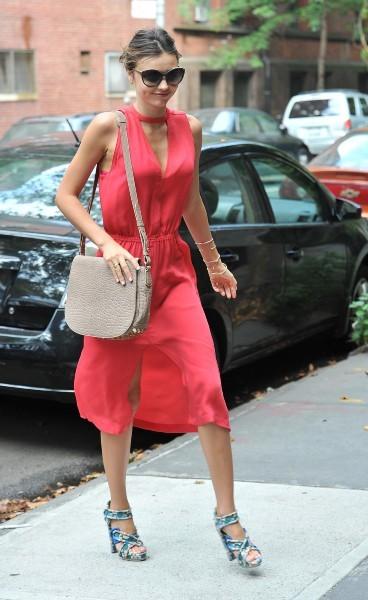 Miranda Kerr à New York, le 18 juillet 2012.
