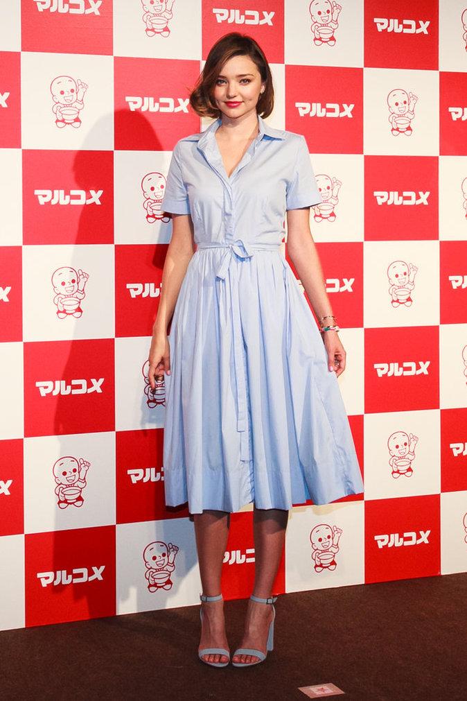 Photos : Miranda Kerr : une poupée kawaï au Japon !