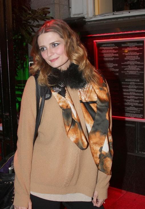 Mischa Barton à Dublin le 12 septembre 2012