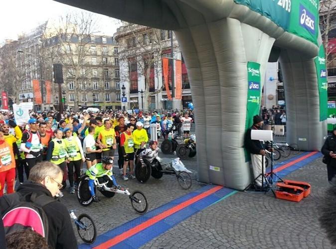 Le marathon de Paris, le 7 avril 2013