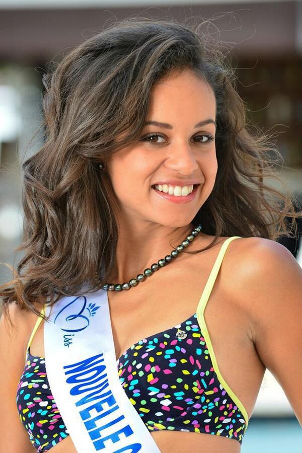 Agnès Latchimy - Miss Nouvelle Calédonie