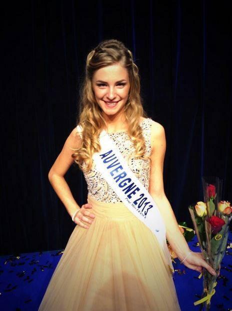 Camille Blond - Miss Auvergne