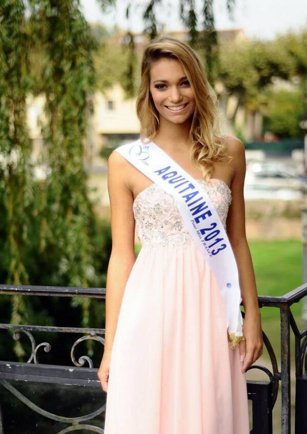 Camille Gaffa - Miss Aquitaine