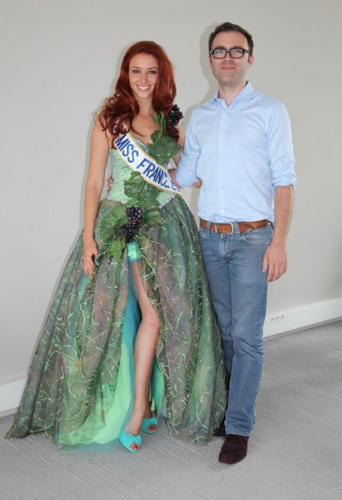 Delphine et Thibault Welchlin, le créateur de la robe