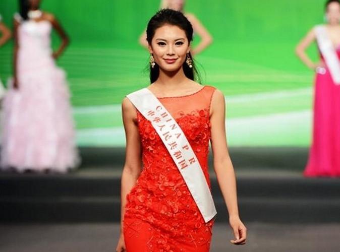 Miss China pendant les répétitions !