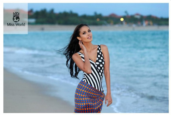 Megan Young (Miss Philippines), sacrée Miss Monde 2013 à Bali le 28 septembre 2013