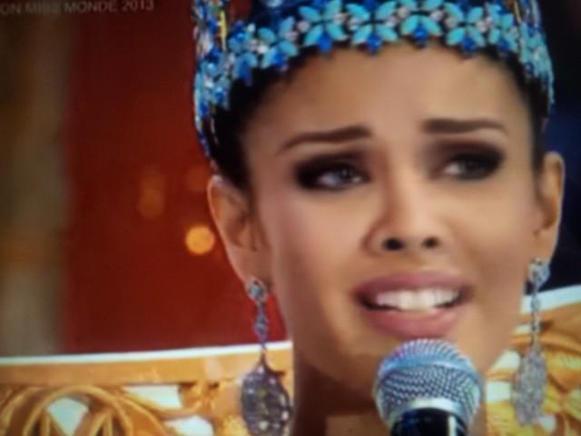 Megan Young (Miss Philippines), sacrée Miss Monde 2013 à Bali le 28 septembre 2013