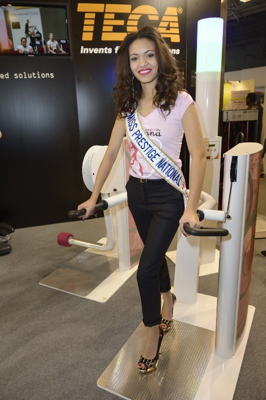 Miss Prestige National 2013, Auline Grac, Paris, 23 mars 2013.