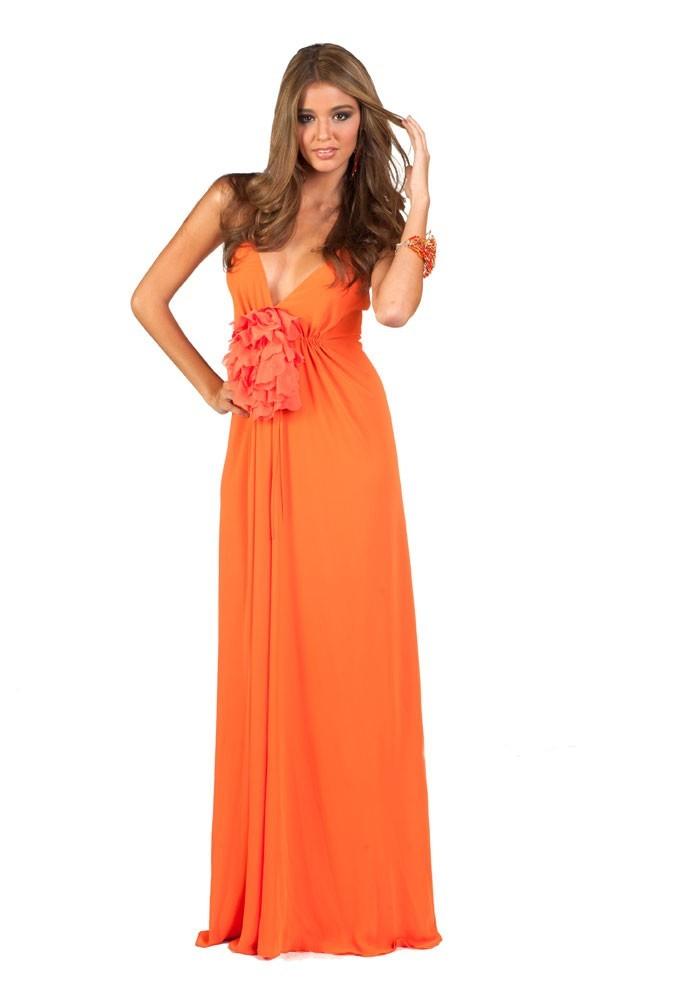Miss Israël en robe de soirée
