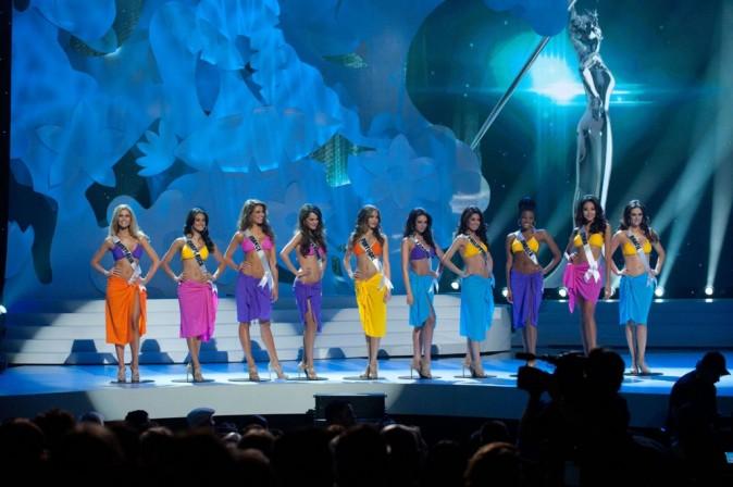 Concours Miss Univers 2011 à Sao Paulo, le 12 septembre 2011.