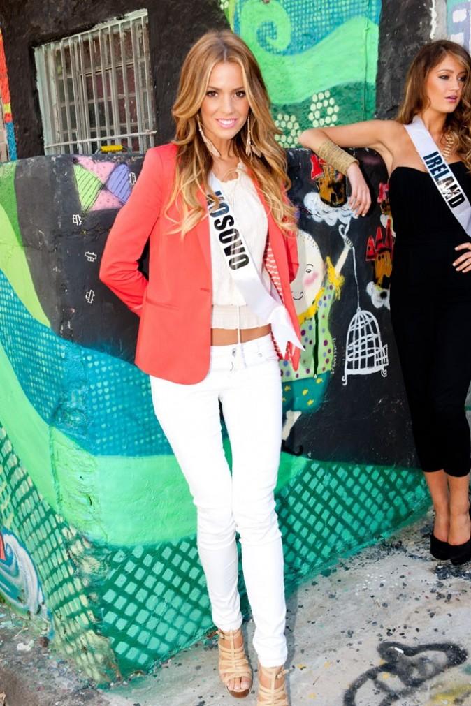 La très sexy Miss Kosovo