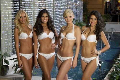 Miss Slovaquie, Miss Costa Rica, Miss Suisse, Miss Grèce