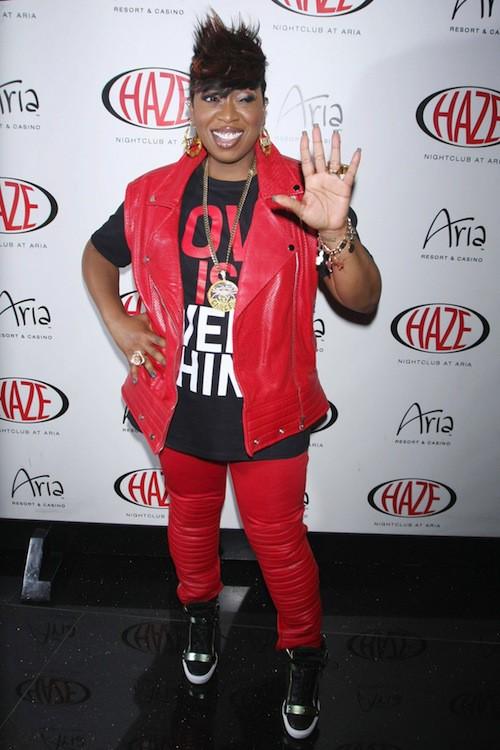 Missy Elliott en 2013