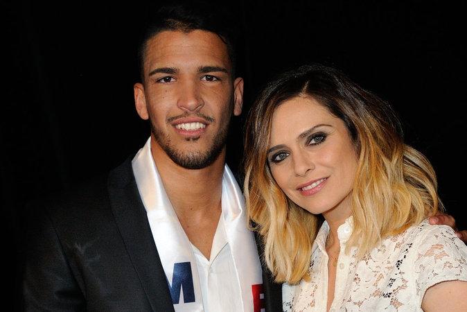 Selim Arik, Mister France 2016 et Clara Morgane