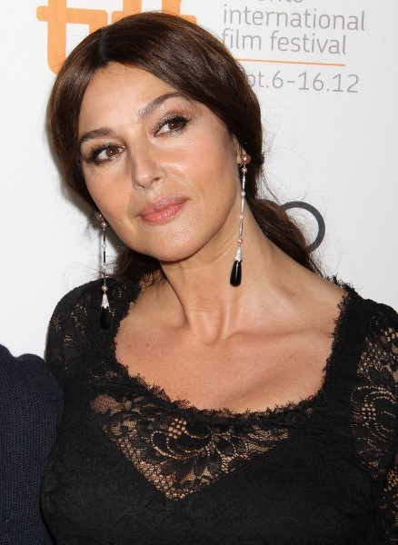 Monica Bellucci lors du Festival international du Film de Toronto, le 12 septembre 2012.