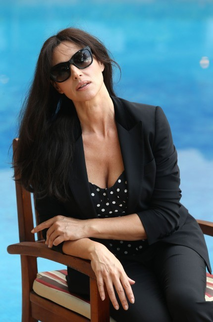 Monica Bellucci le 2 mai 2013 à Rio de Janeiro