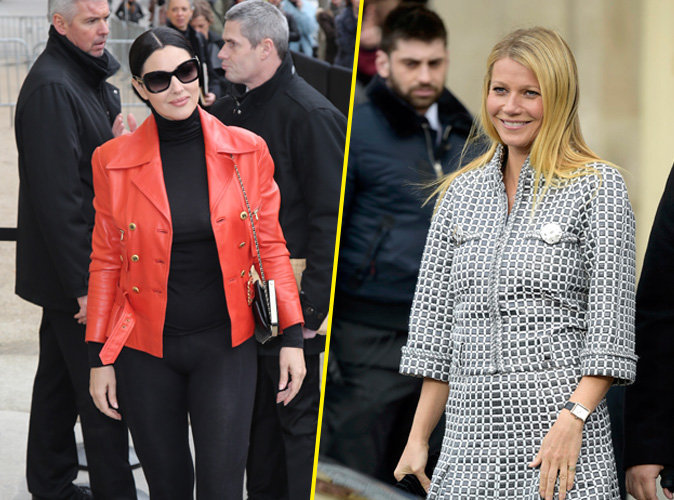 Monica Bellucci / Gwyneth Paltrow : duel de belles chez Chanel