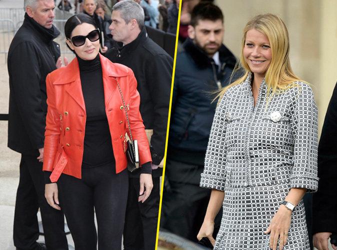 Monica Bellucci / Gwyneth Paltrow : duel de belles chez Chanel