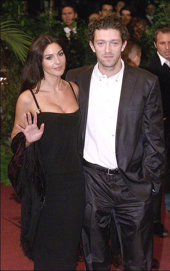 Monica Bellucci et Vincent Cassel en 2000