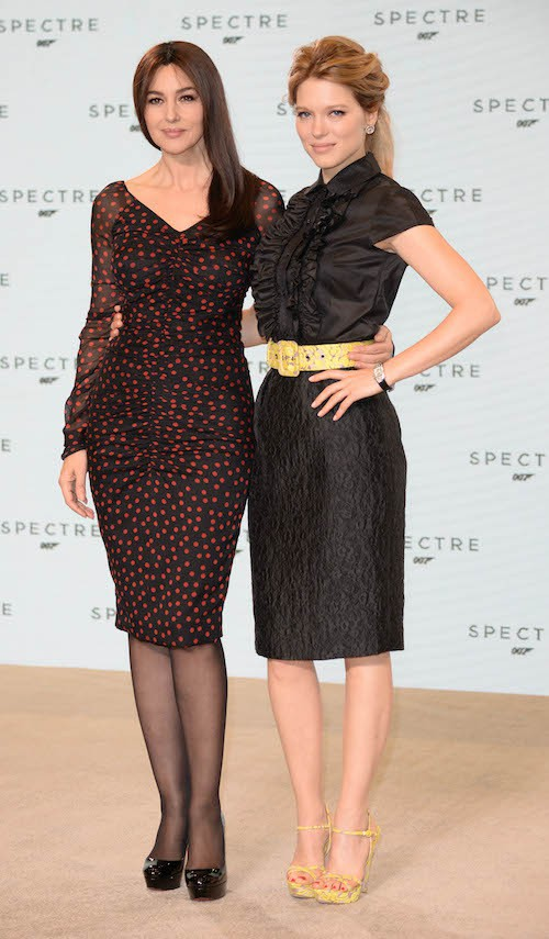 Monica Bellucci et Léa Seydoux : atouts charmes officiels du prochain James Bond !