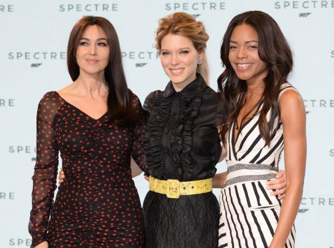 Monica Bellucci, L�a Seydoux, Naomie Harris : atouts charme officiels du prochain James Bond !