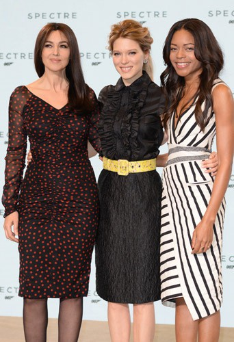 Photos : Monica Bellucci, Léa Seydoux, Naomie Harris : atouts charmes officiels du prochain James Bond !