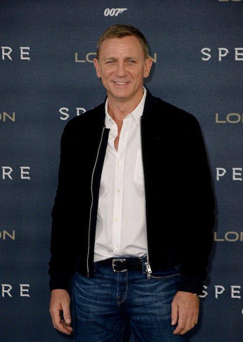 Daniel Craig à Londres pour Spectre, le 22 octobre 2015
