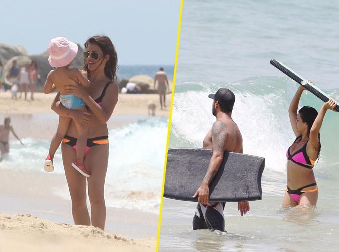 Monica et Eduardo Cruz à Cadix, le 6 juillet 2015