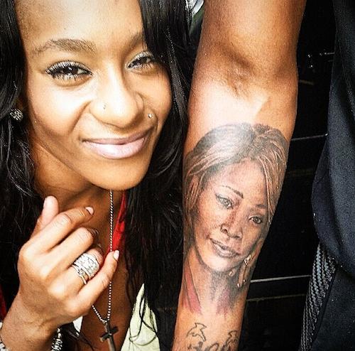 Le tatouage de Nick Gordon en hommage à Whitney Houston