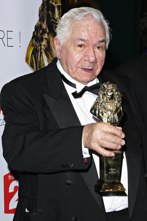 Michel Galabru reçoit un Molière en 2008
