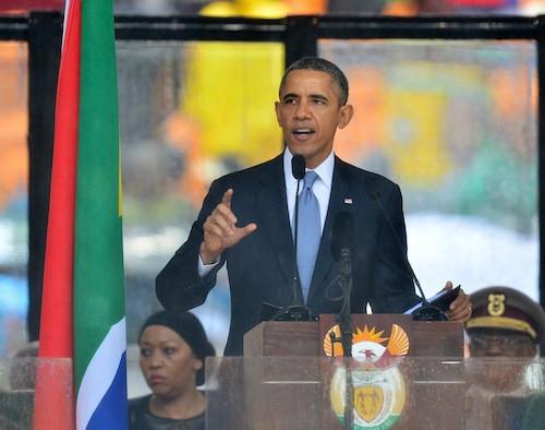 Photos : Mort de Nelson Mandela : 5 infos à savoir sur l'hommage rendu par les chefs d'Etats et de gouvernements !