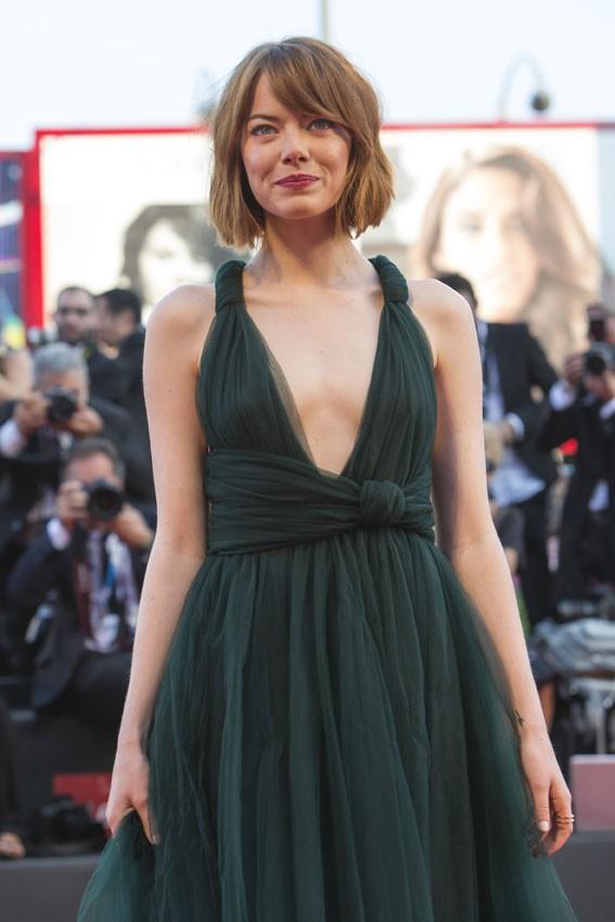 Emma Stone à la Mostra de Venise le 27 août 2014