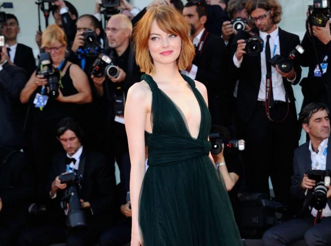 Mostra de Venise 20104 : Emma Stone charme son monde avec son savoureux décolleté !