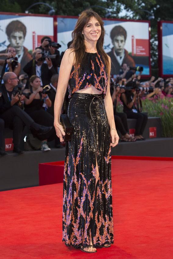 Charlotte Gainsbourg à la Mostra de Venise le 30 août 2014