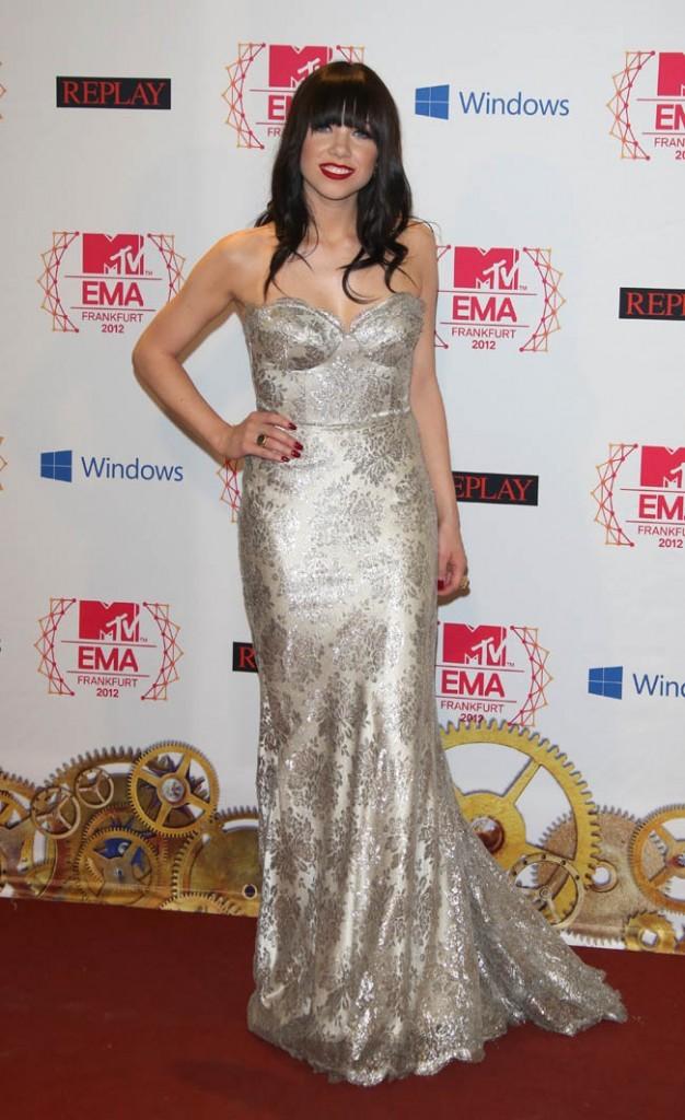 Carly Rae Jepsen le 11 novembre 2012 à Francfort
