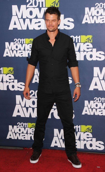 Josh Duhamel lors des MTV Movie Awards 2011, le 5 juin 2011 à Universal City.