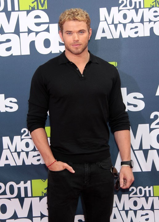 Kellan Lutz lors des MTV Movie Awards 2011, le 5 juin 2011 à Universal City.