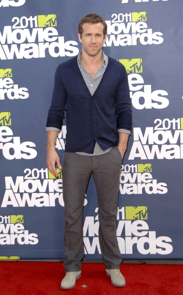 Ryan Reynolds lors des MTV Movie Awards 2011, le 5 juin 2011 à Universal City.